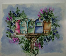 OLD MAILBOXES Retired (photo #2) L@@k@ examples ART IMPRESSIONS RUBBER STAMPS