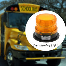 LED Car Truck Warning Light Amber Flashing Strobe Police Emergency Light 12V 24V