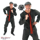 FANCY DRESS COSTUME ~ MENS DISNEY MARY POPPINS BERT VICTORIAN CHIMNEY SWEEP