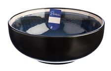 Rayware Roma Blue Breakfast Soup Bowls Set of 4 Ceramic Bowls