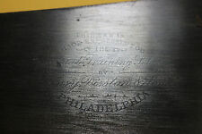 "UTRA-UNUSUAL Henry Disston&Sons saw 8 TPI ""MADE EXPRESSLY FOR CHANDLER&BARBER"""