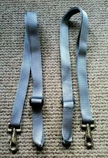 Leg Straps,Grey/Silver x 2 (pair) Stable/Turnout rug.Trigger clip and loop. BN!!