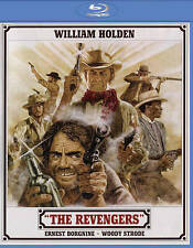 The Revengers (Blu-ray Disc, NEW, 1972, 2015 Release) William Holden