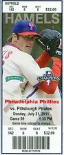 2011 Phillies vs Pirates Ticket: Raul Ibanez homers twice adds game-winner in 10