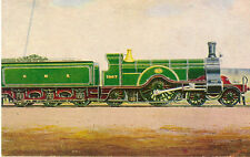 RAILWAY :  GREAT NORTHERN  4-2-2 No 1007 -IAN ALLAN