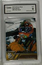 KYLE BUSCH 2013 PRESS PASS HOT SEAT #92 MINT 9 GRADED BY GMA NICE CARD