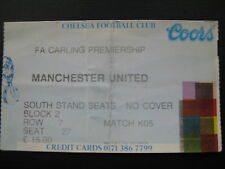 CHELSEA V MANCHESTER UNITED  26/12/1994  USED TICKET