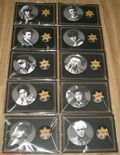 SUPER JUNIOR SJ MAMACITA AYAYA ALL MEMBER PIN BUTTON SET SM LOTTE POP UP GOODS