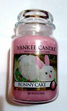 Yankee Candle BUNNY CAKE 22 oz  Large Jar NEW Free Shipping in USA SOLD OUT