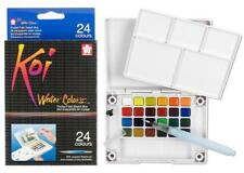 Sakura Koi Watercolor - Pocket Field Sketch Box - 24  Transparent Colors