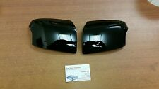 FORD FOCUS ST 225 MK2 FOCUS NEW GLOSS BLACK WING MIRROR COVER SET 05 - 08