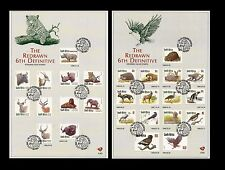 South Africa 1998 Redrawn 6th Definitive Endangered Fauna set of 2 x FDC