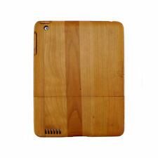 Wooden Hard Case for iPad 2 3 4 - Cherry Wood