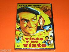 VISTO Y NO VISTO / NI VU NI CONNU - Louis de Funes - français/español - Precint