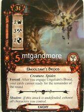 Lord of the Rings LCG  - 1x Ungoliant's Brood  #003 - Passage through Mirkwood