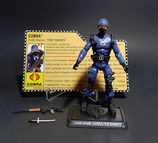 Hasbro GI Joe 25th COBRA TROOPER Complete w/Filecard
