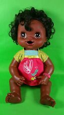 2010 Hasbro BABY ALIVE Black Doll Learn to Potty