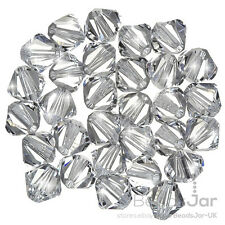 Swarovski 5328 Crystal Xilion Bicone (001) Crystal 6mm Beads Pack of 30 (E80/2)