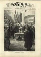 1875 Opening New Merchant Taylor School By Prince And Princess Of Wales