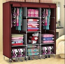 FOLDING WARDROBE STORAGE ALMIRAH A- 3 RBS GOOD QUALITY