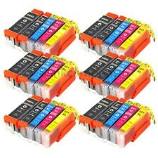 30 cartuchos XL para mg5550 ip7250 mg5450 mg6350 mg7150 mx725 mx925 pgi550 cli551
