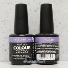 Artistic Colour Gloss - WISHES #03134 SPRING 2014 UV Gel Nail Polish Design