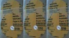 6 X LOT Official Original JFJ Easy Pro 3M 1200 GRIT SOFT SANDPAPER CD Repair