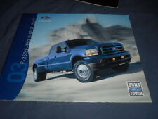 2003 Ford  F Series Super Duty Full Line Color Sales Brochure Catalog Prospekt