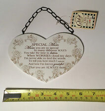 Special Mum Wall Plaque Great Gift Ideas for Her For Birthdays & Mothers Day