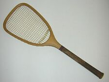 Peck & Snyder Flat Top Antique Tennis Racquet, NY - 1880 - Rare Flat Top Racquet