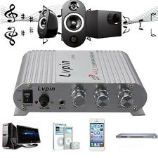 200W Mini Hi-Fi 2.1 Amplifier Booster Radio MP3 Stereo for Auto Car Motorcycle