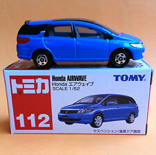 TOMICA HONDA AIRWAVE STATION WAGON #112 1/62 BLUE TOMY Retired