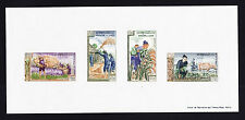 """LAOS 1963 SC # 84A FREEDOM FROM HUNGER """" IMPERF """" MINI SHEET OF 4  MNH ."""