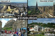 SOUVENIR FRIDGE MAGNET of EDINBURGH SCOTLAND
