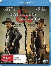 HATFIELDS AND McCOYS (2012 Kevin Costner) 2 disc  -  Blu Ray - Sealed Region B