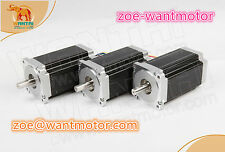 Ship from USA and free! 3PCS WANTAI motor Nema34 Stepper Motor 1232oz-in 5.6A