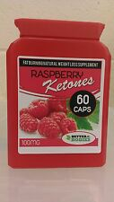 RASPBERRY KETONES WEIGHT LOSS FAT BURN DIET SLIMMING PILLS 60 CAPSULE BOTTLE rb