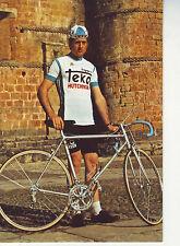 CYCLISME carte JULIAN ANDIANO  (equipe TEKA) 1976
