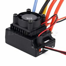 80A Sensored Brushless Speed Controller ESC Plate For 1/10 RC Car Buggy Truck