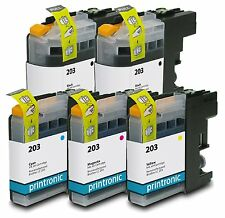 Ink Cartridge for Brother MFC-J5520DW Brother MFC-J4320DW Brother LC203 5 P