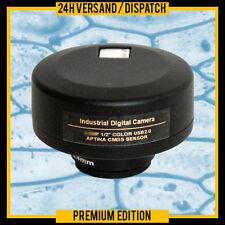 C-MOUNT DIGITAAL OOGLENS MICROSCOOP CAMERA KAMERA 9.0 MEGAPIXEL CMOUNT    MCB