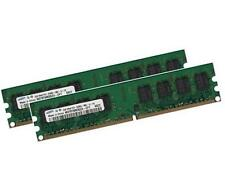2x 2gb 4gb ECC unbuffered memoria RAM ddr2 800 MHz UDIMM pc2-6400e 240p