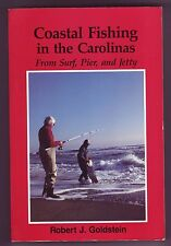 Coastal Fishing In The Carolinas Surf Pier Jetty by Robert J. Goldstein