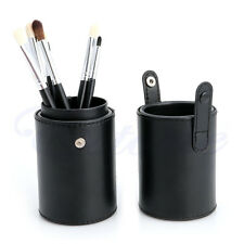 Cosmetic Makeup Make Up Brushes Brush Set Tool Kit Cup Holder Case Pouch Black