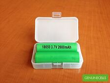 2x GENUINE SONY US18650 VTC5 2600mAh 30A IMR HighDrain Rechargeable Battery Lion