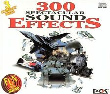 300 Spectacular Sound Effects (3 CD Boxed Set) (1995)