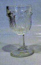 Thistle  Pattern Stemware Clear Cordial  Mint Condition Collectors Item