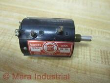 Maco 205 Borg Model Potentiometer Linear 10 Turn - Used
