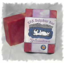 Huckleberry _Yellowstone_ SPA Sulphur Mineral Soap Made in Montana Handmade
