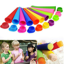 Vogue 1Pc Popsicle Molds Silicone Childrens Summer Homemade Ice Pop Molds Tubes